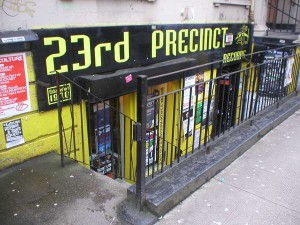 23rd Precinct Shop in Glasgow